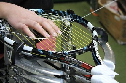 Encordar raqueta