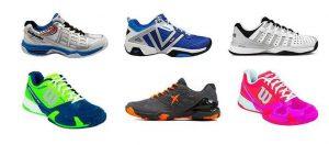 mejores zapatillas padel