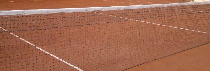 red de tenis profesional